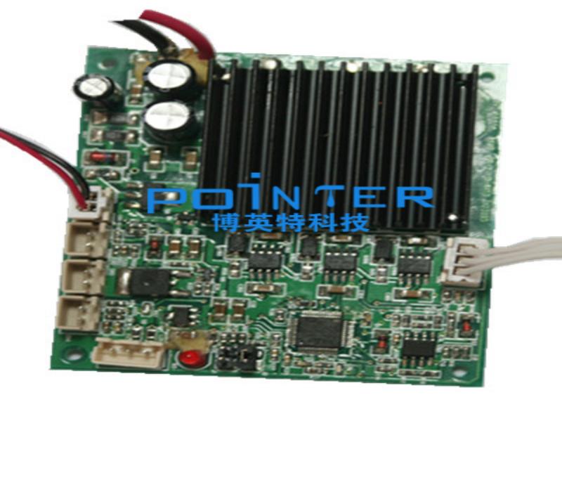 1、堵转检测:在电机堵转超过规定时间时,无刷电机控制器应停止对电机输出电流,并发出报警信号。      2、霍尔故障检测:当电机的位置传感器输出异常信号时,无刷电机控制器应停止对电机输出电流,并发出报警信号。      3、加速器信号异常检测:当无刷电机控制器检测到加速踏板在上电时的信号异常时禁止对电机输出,并发出报警信号。      4、过压/欠压检测:当无刷电机控制器的输入电压超过其最大输入电压时自动发出报警信号;而当无刷电机控制器的输入电压低于其最小输入电压时自动报警信号。      5、过温/