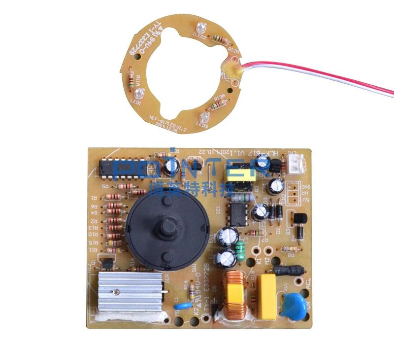 无刷电机驱动控制电路的功能是将霍尔位置传感器检测